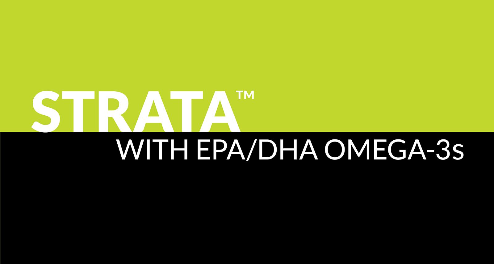 Strata with EPA/DHA omega-3s
