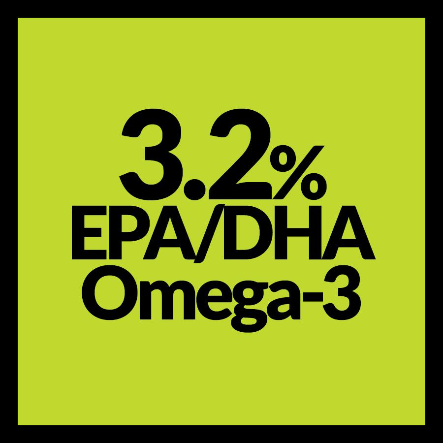 3.2% EPA/DHA Omega-3