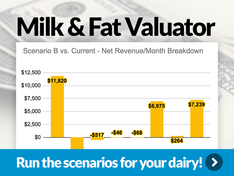 Milk & Fat Valuator